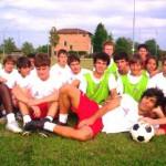 Il gruppo di atleti
